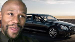 Floyd mayweather & doralie medina in bugatti veyron greet paparazzi & fans departing bet after party. Floyd Mayweather In Celebrity Battle To Buy 2 6 Million Maybach Trv Countdown