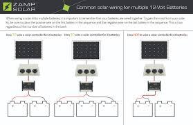 wiring diagrams zampsolar quick start guide for multiple battery banks