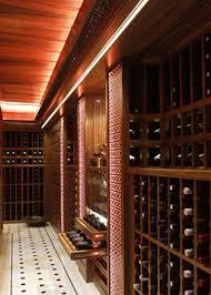 wine room lighting. Residential Wine Cellar Undercounter Wooden Integrated Lighting STATEOFTHE Room