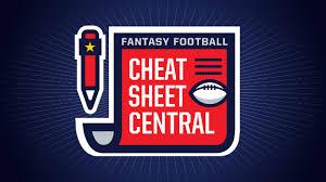 Nfl Depth Chart Cheat Sheet 2017 Fantasy Football Cheat Sheets 2017 Player Rankings Draft