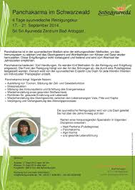 Panchakarma Kur In Bad Antogast The Art Of Living Germany