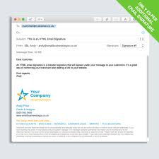 Email Signature Html Html Email Signature Small Business Logos