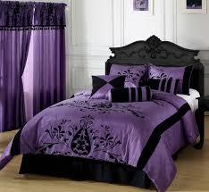 Girls Bedroom Wallpaper Designs Ideas Pretty  Purple And Black. Bedroom