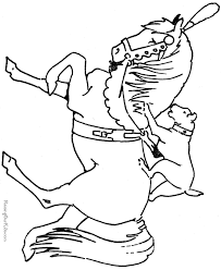 Small Picture Horse Coloring Pages To Print A Little Hard Horse Coloring Pages