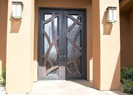 iron glass door inserts to wrought