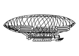 Kleurplaat Zeppelin Afb 27852 Images