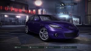 Need For Speed Carbon Cars By Mazda Nfscars