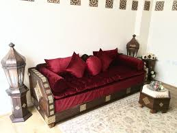 luxurious moroccan sofa couch corner suite majlis bench daybed floor seating moroccan decor