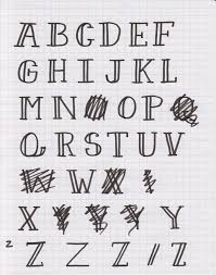 Cool Fonts To Write In How To Make Your Own Font Using Glyphs And Illustrator