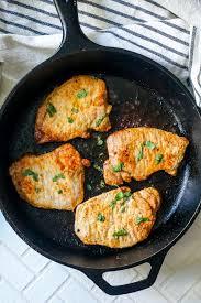the best pan fried pork chops recipe
