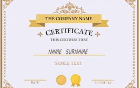 Free Professional Certificate Templates Simple 48 Multipurpose Certificate Templates And Award Designs For Business