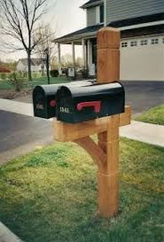 cool mailbox post ideas. Unique Post Double Mailbox Post Designs  Double Mailbox Post Mailbox74JPG Intended Cool Ideas