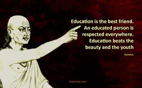 Pin By Madhuri Reddy On My Profession Chanakya Quotes Education