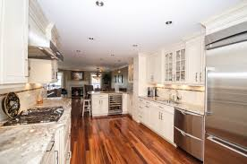 Gallery Kitchen Galley Kitchen With Peninsula Neptune Nj By Design Line Kitchens