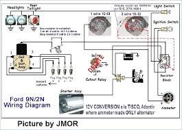 9n ford tractor wiring diagram kanvamath org ford 9n tractor wiring diagram at Ford 2n Wiring Diagram