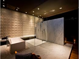 large modern bathroom. Picture Of Large Modern Luxury Bathroom With Huge Shower Cabin By The Bathtub