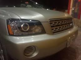 Headlights For Toyota Highlander Kluger 2001-2007 LED Headlamps ...
