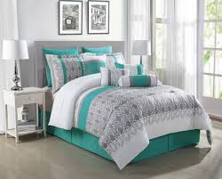 ideas grey and teal bedding sets creative lostcoastshuttle bedding set with regard to gorgeous gray