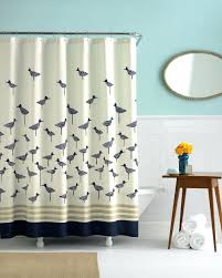 smlf favored little birds pattern polyester extra long shower curtain liner as well as wooden table decors