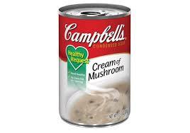 campbell s cream of mushroom soup. Wonderful Campbell Campbells Healthy Request Cream Of Mushroom Soup Ingredients Inside Campbell S Cream Of Mushroom Soup L