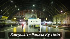 how to get from bangkok to pattaya by train bus van taxi