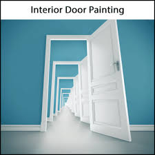 average cost to paint interior doors