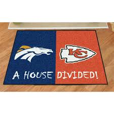 Fanmats NFL House Divided Mat - 176396, Sports Fan Gifts at ...