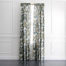 dwellstudio ming dragon blue and yellow curtain panel