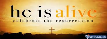 happy easter he is alive