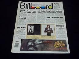 1989 Billboard Music Magazine 15 Years Of Kiss 30 Page