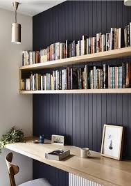 home office repin image sofa wall. Modern Scandinavian Style Home Office Design Featuring A Dark Blue-gray Beadboard Accent Wall And Repin Image Sofa O