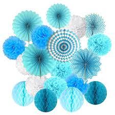 Cocodeko Hanging Set, Tissue Paper Poms Flower ... - Amazon.com