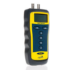 gas manometer. digitron pm-80 digital differential manometer with selectable measurement units gas