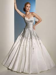 silver wedding dress dresscab