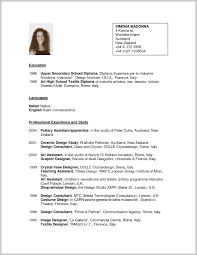 Template For Resume Unique Teacher Resume Template Free 268204