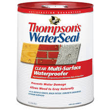 clear multi surface waterproofer exterior sealer 24105 the home depot