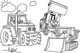 Small Picture Tractor Coloring Pages Coloring Book of Coloring Page
