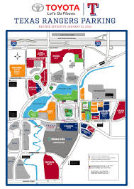 Globe Life Stadium Seating Chart What Rangers Fans Need To Know About Parking At Globe Life
