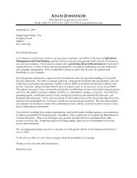 Online Cover Letter Example Choice Image Letter Samples Format
