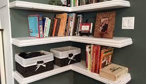 plans corner solid shelf bookshelf reclaimed shelves wall home kitchen floating bookshelves ladder pretty mounted woodworking