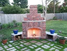 building a backyard fireplace likeable patio build your own outdoor fireplace designs with decorative