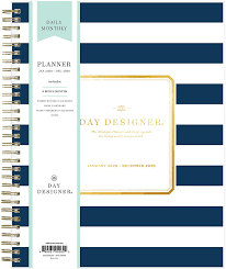 Day Designer Blue Sky Daily Monthly