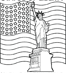 Coloring Page Of The United States Flag Coloring Pages United States