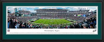Philadelphia eagles stadium fly eagles fly die hard football team nest pride tower fan sports. Amazon Com Philadelphia Eagles 50 Yard Blakeway Panoramas Nfl Posters With Deluxe Frame Sports Outdoors