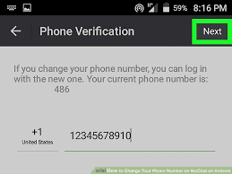 How To Change Your Phone Number How To Change Your Phone Number On Wechat On Android 10 Steps