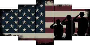 army rangers navy seals marines salute patriotic american flag wall art canvas painting decor on patriotic canvas wall art with army rangers navy seals marines salute patriotic american flag wall