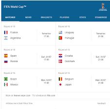 World Cup Tournament Chart Sumbi Online Business Round 16 World Cup Matches