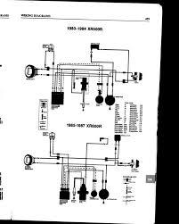 1983 honda xr500 wiring diagram 1983 diy wiring diagrams xr dual sport wiring diagram xr electrical wiring diagrams