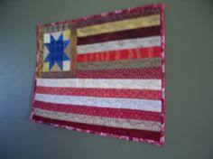 American Flag Quilt - Tabletop or Wallhanging | Quilt, Flags and ... & AMERICAN FLAG, 17 X 13 quilted wallhanging. Quilts For SaleAmerican ... Adamdwight.com
