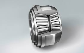 tapered roller bearing. this double row tapered roller bearing has been specially designed for tractor gearboxes. one is equipped with long rollers, to accept high